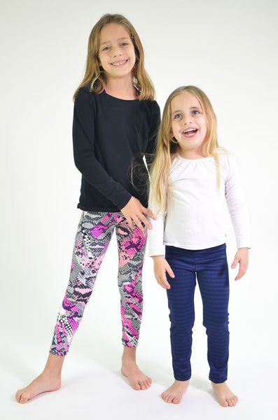 RIO GYM Mini-me Navy Oregon Legging yoga wear for women