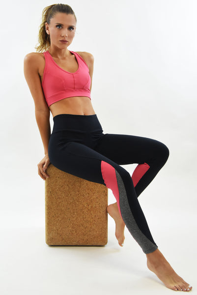 RIO GYM Cecilia Legging Guava yoga wear for women