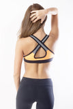 RIO GYM Marbella Orange Bra yoga wear for women