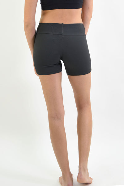 RIO GYM Cotele  Shorts - Black yoga wear for women