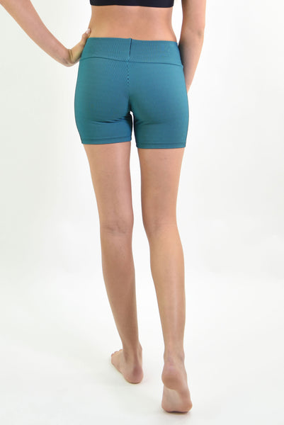 RIO GYM Cotele  Shorts - Tourquoise yoga wear for women