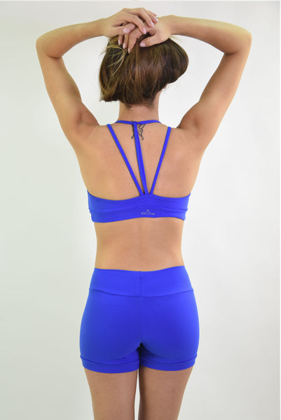 RIO GYM Lux Bra - Royal Blue yoga wear for women