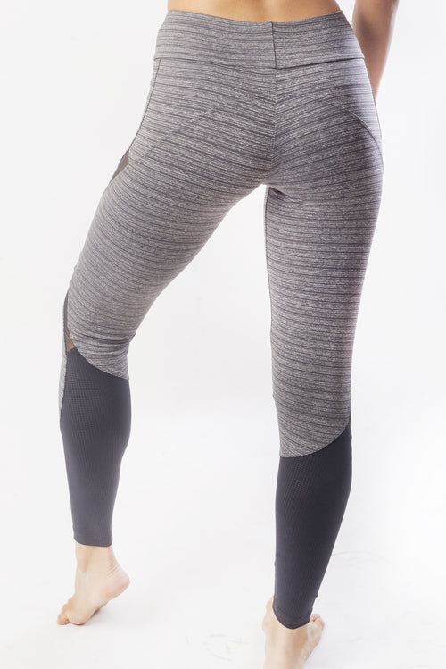RIO GYM Bella Legging - Dim Grey yoga wear for women