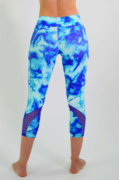 RIO GYM Elaine Sky Capri yoga wear for women