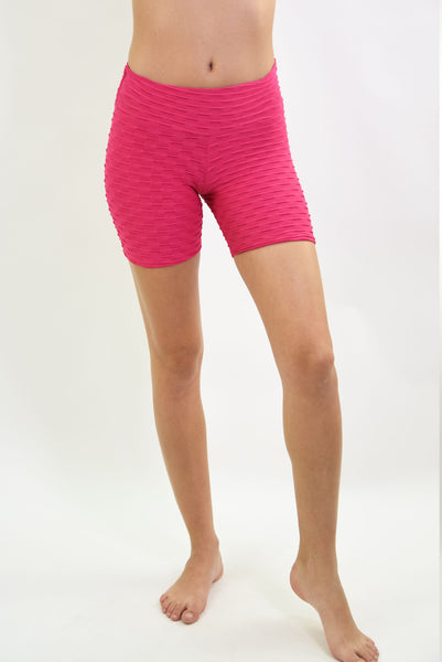 RIO GYM Ana Ruga Shorts - Pink yoga wear for women