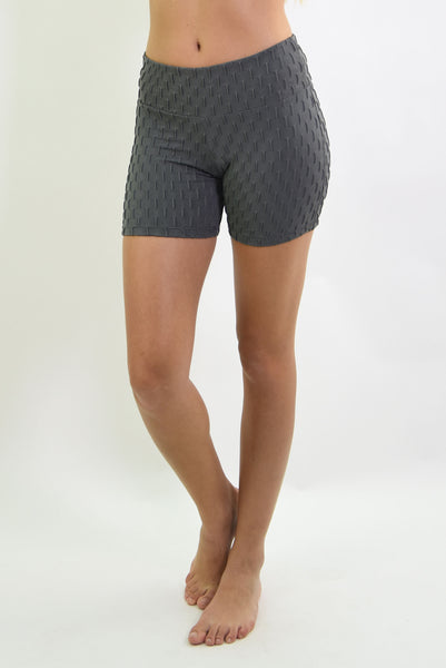 RIO GYM Ana Ruga Grey Shorts yoga wear for women