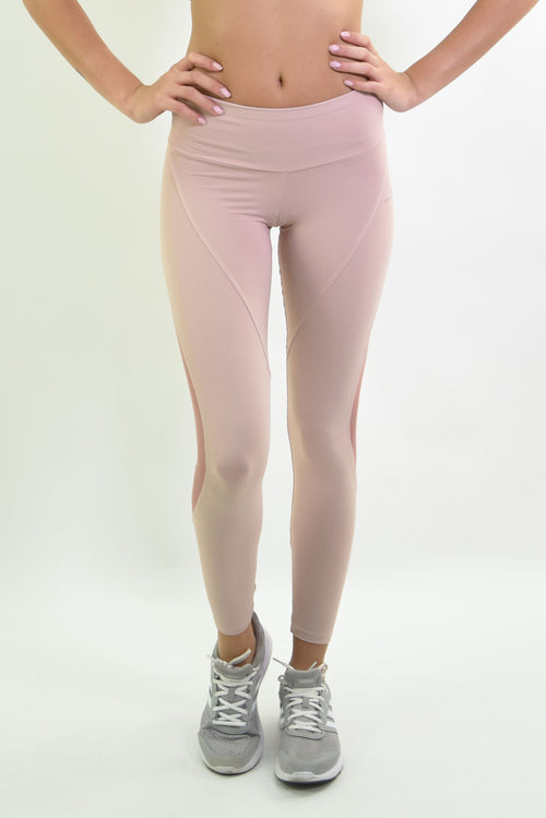 RIO GYM Elieane Legging - Rose yoga wear for women
