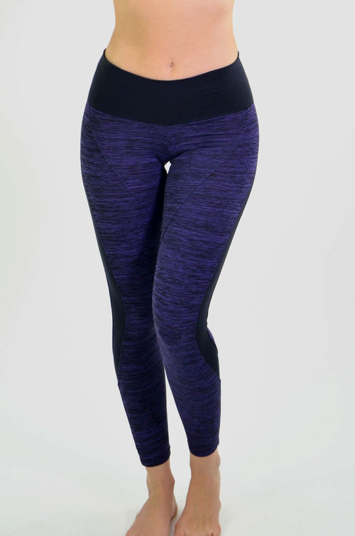 RIO GYM Michelle Purple Legging yoga wear for women