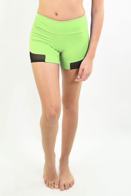 Ana Ruga Green Shorts