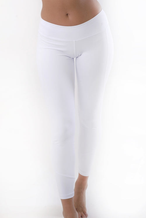 RIO GYM Pure White Legging yoga wear for women