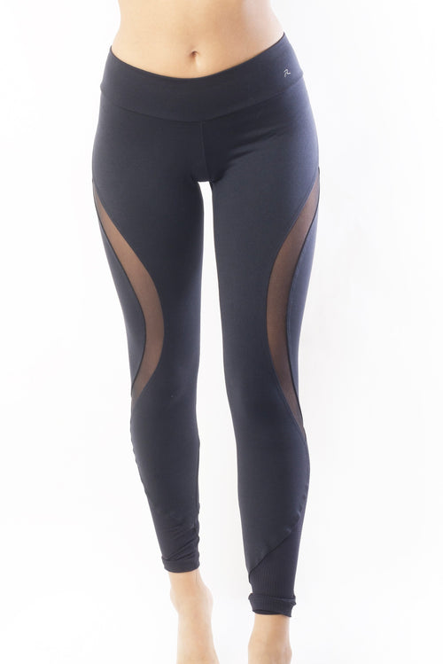 RIO GYM Bella Legging - Black yoga wear for women