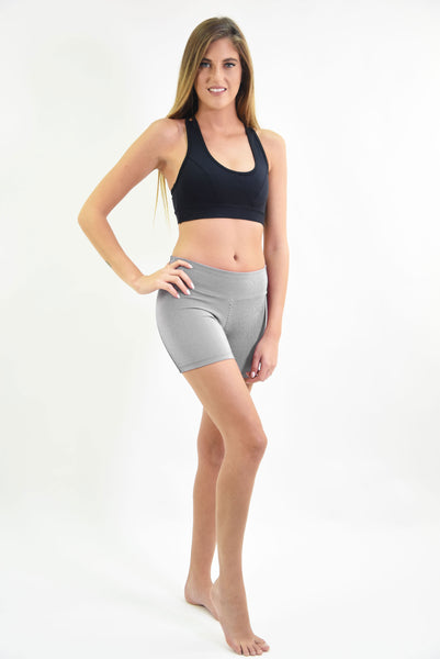 RIO GYM Cotele  Shorts - Black & White yoga wear for women