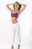RIO GYM Iris Bra - Bordeaux yoga wear for women