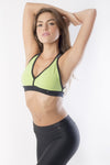 RIO GYM Marbella Sea Green Bra yoga wear for women