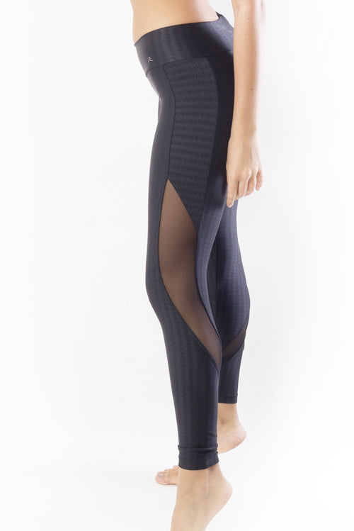 RIO GYM Lucila Legging - Black yoga wear for women