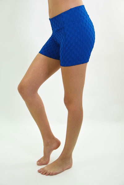RIO GYM Ana Ruga Shorts  Royal yoga wear for women