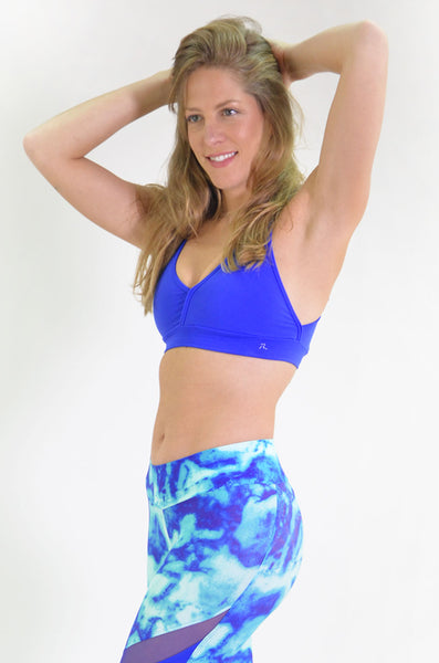 RIO GYM Marbella Royal Bra yoga wear for women
