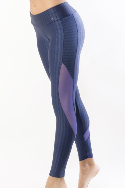 RIO GYM Lucila Legging - Midnight Blue yoga wear for women