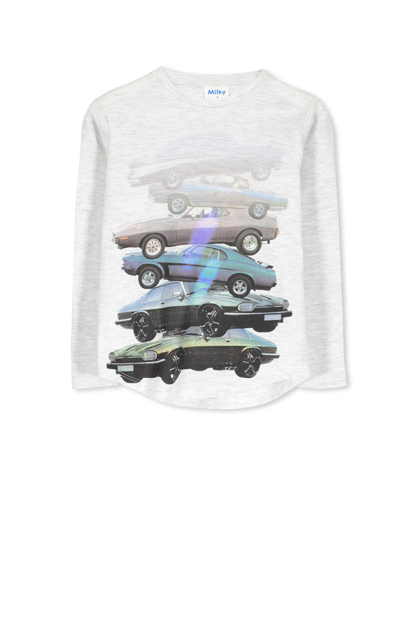 Milky- Muscle car Tee