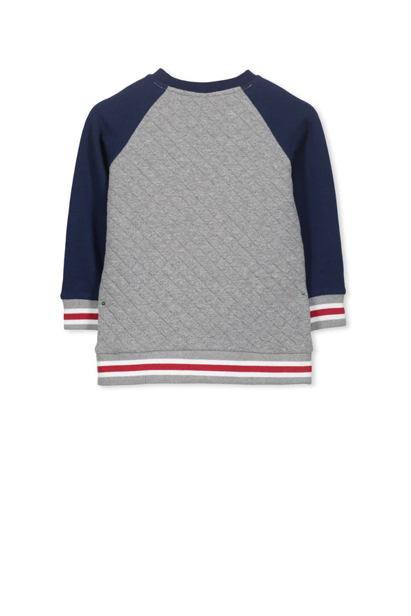 MILKY - Raglan Quilted Sweat