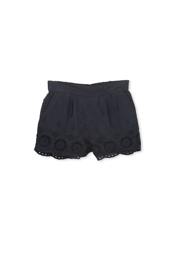 Milky | Milky Navy Broderie shorts | Surfcoast Kids Torquay VIC