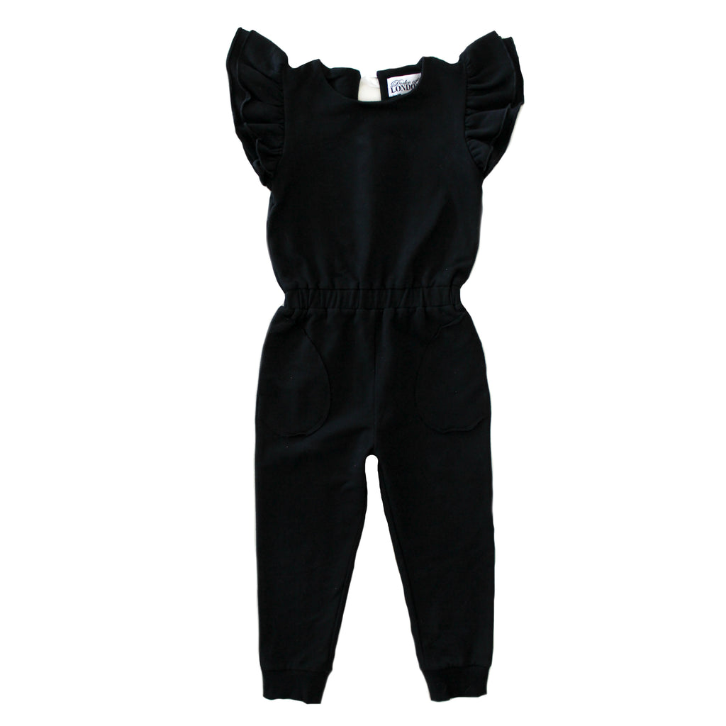 Duke Of London Black Jumpsuit