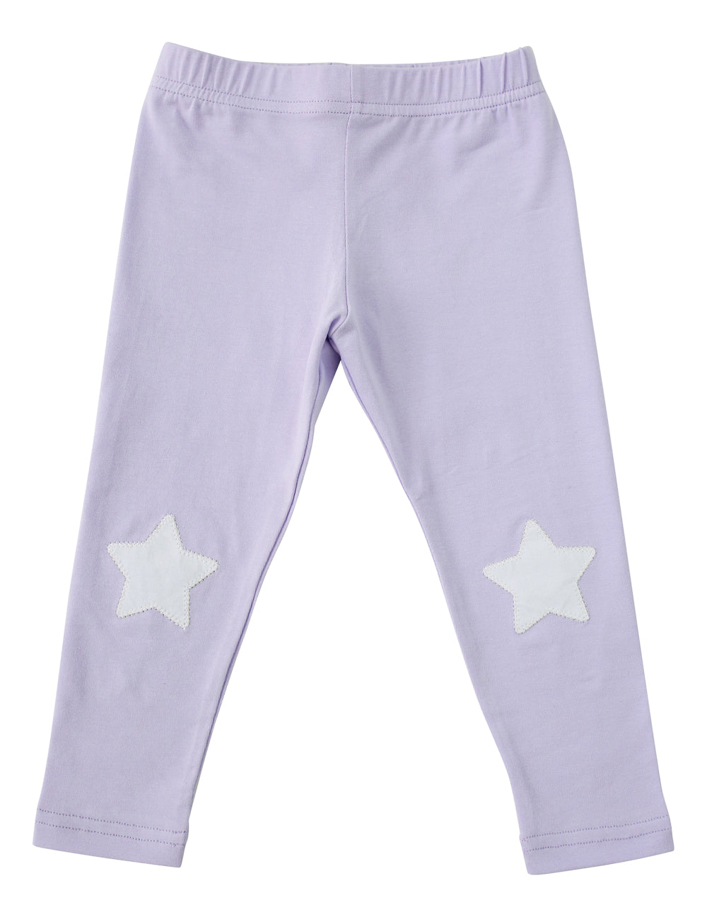 Vuvu Kids | VuVu Kids Star Patch Purple Leggings | Surfcoast Kids Torquay VIC