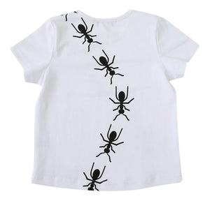 Vuvu Kids | Vuvu Kids  ANTS TRAIL Short Sleeve T-shirt | Surfcoast Kids Torquay VIC