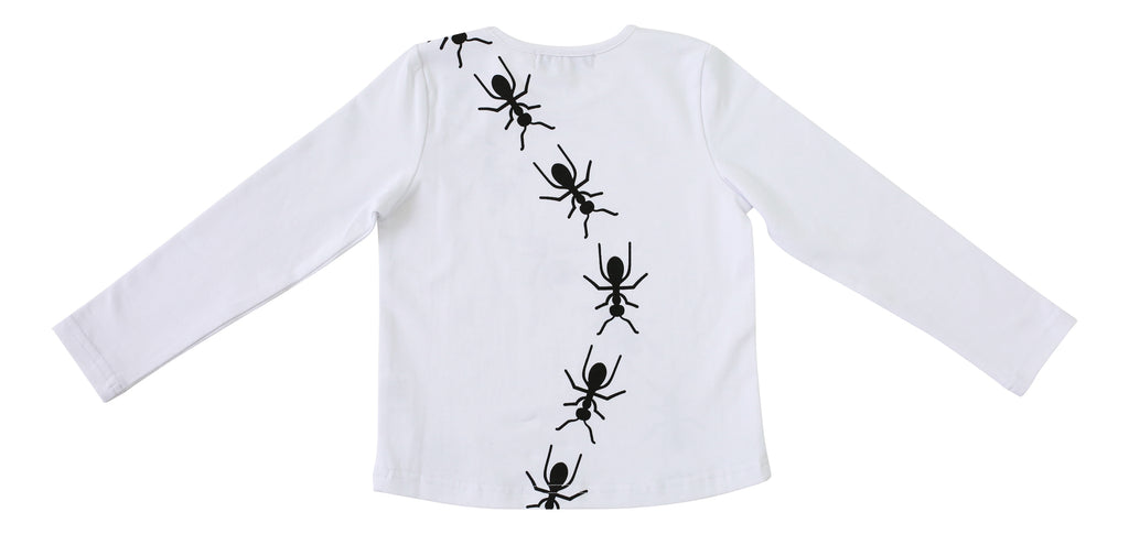 Vuvu Kids | Vuvu Kids ANTS TRAIL Long Sleeve T-shirt | Surfcoast Kids Torquay VIC