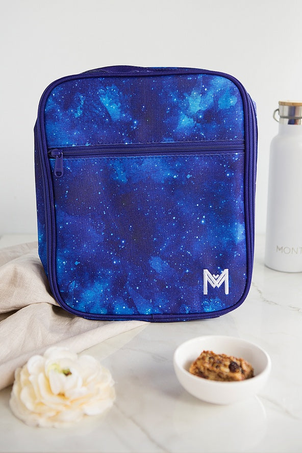MontiiCo Insulated Lunch Bag - Galaxy Navy Blue