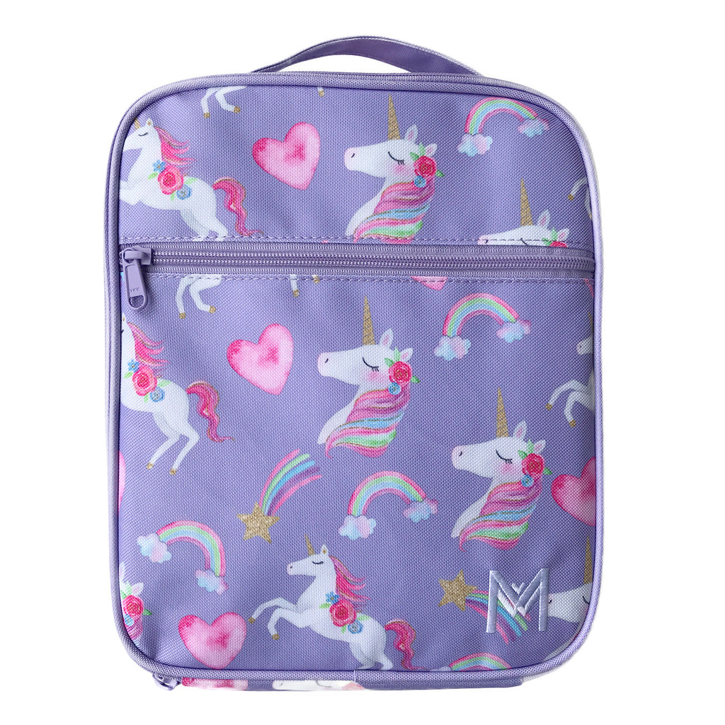 MontiiCo Insulated Lunch Bag -Unicorn