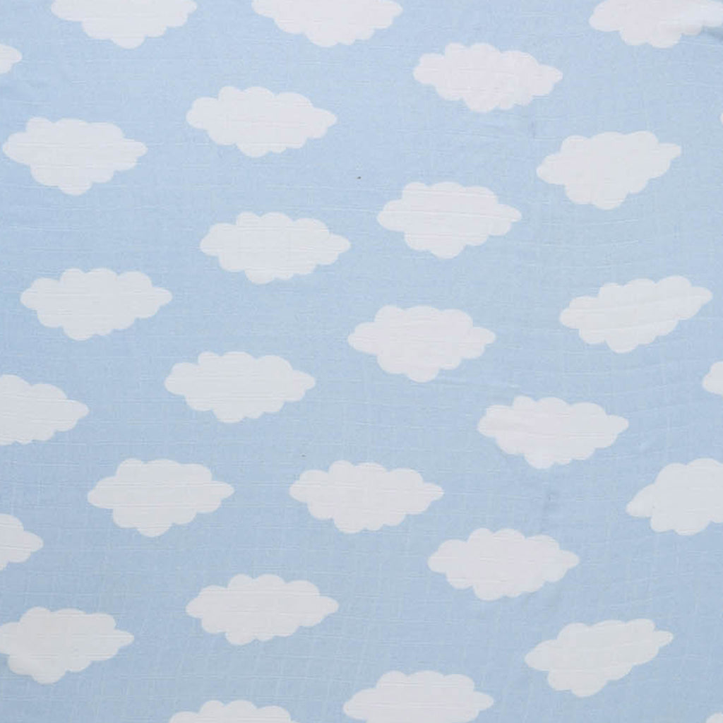 CLOUDY DAYS BAMBOO BABY SWADDLE