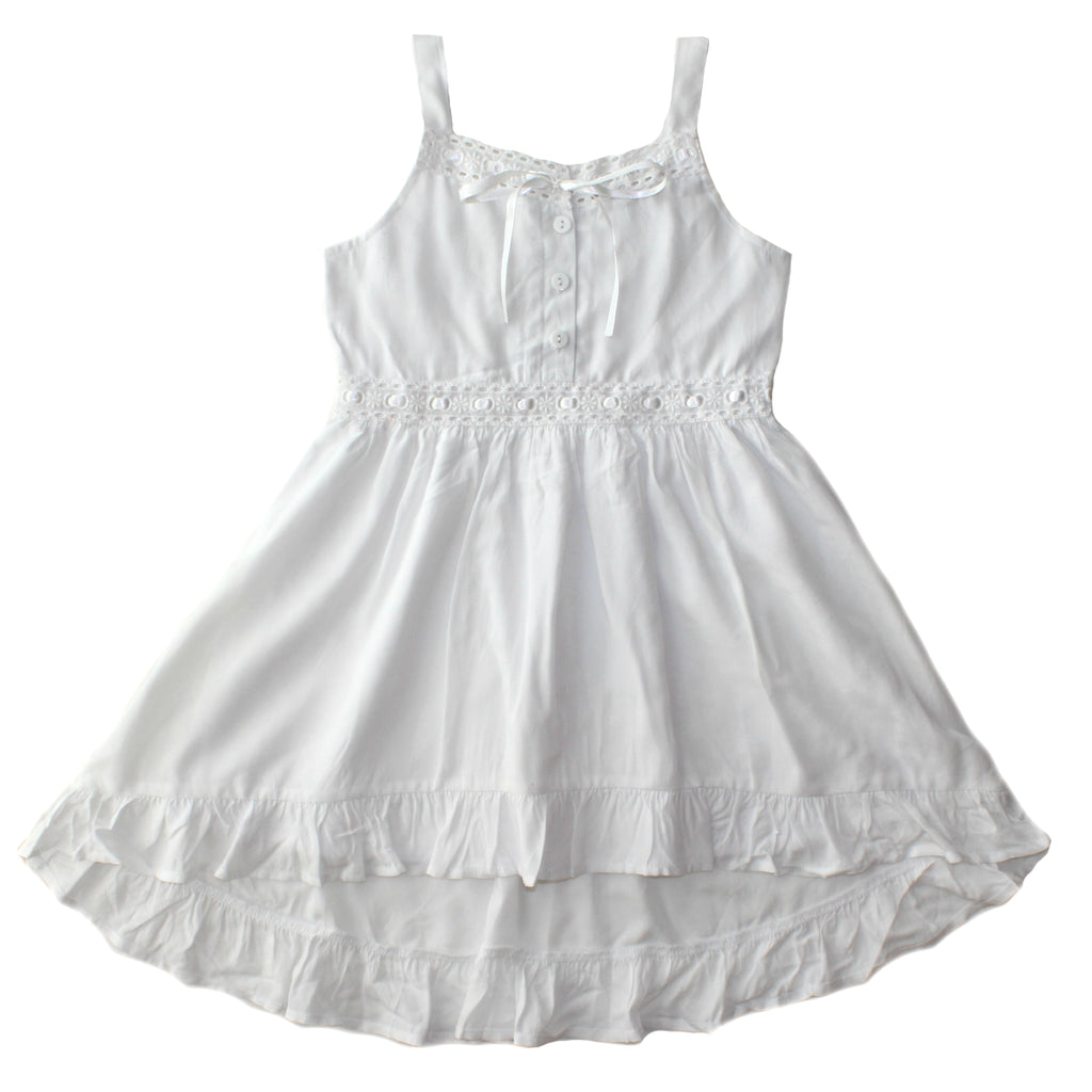 Duke of London Milla Dress - White
