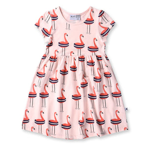 Safe Flamingo Dress