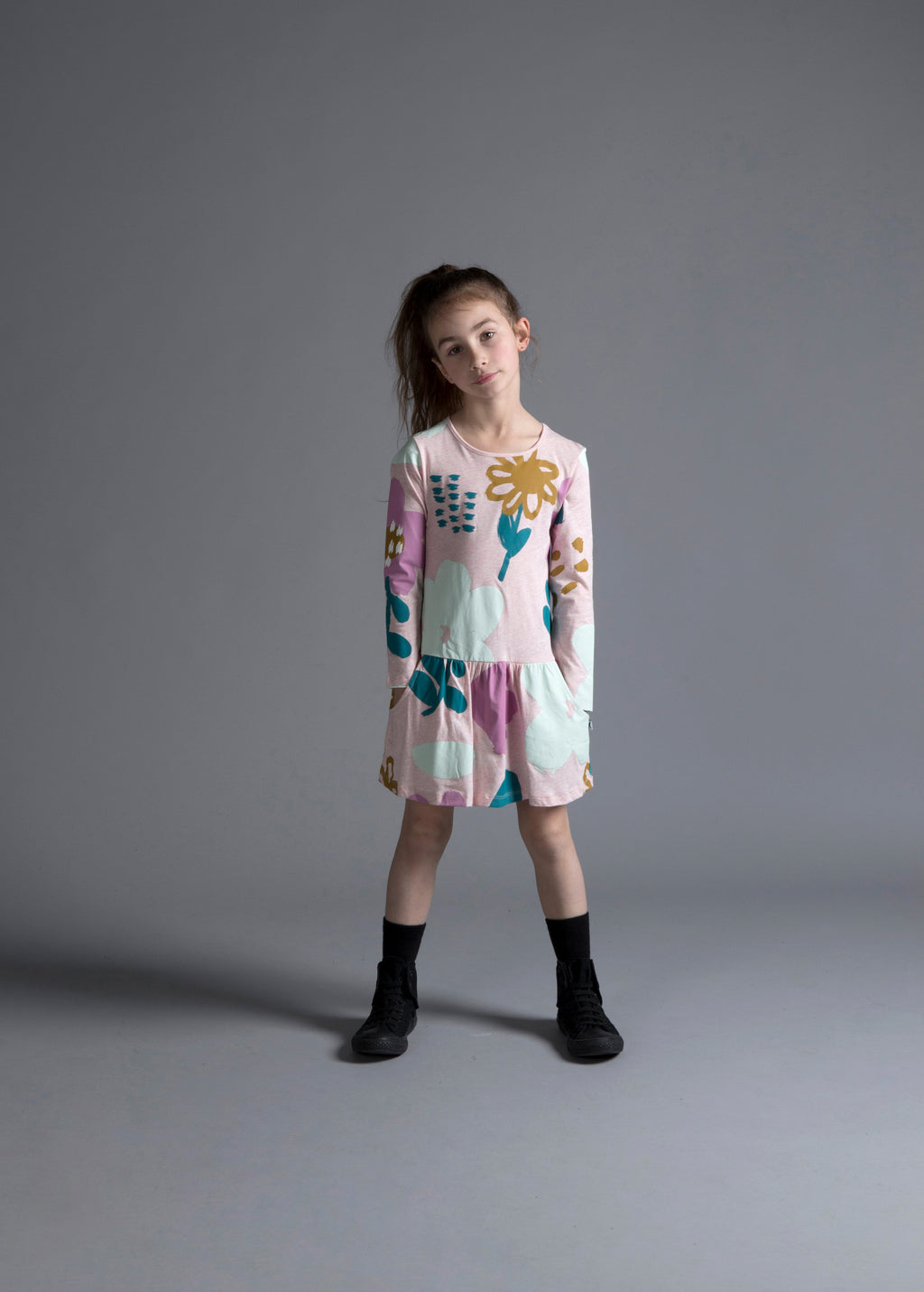 Minti Meadow dress