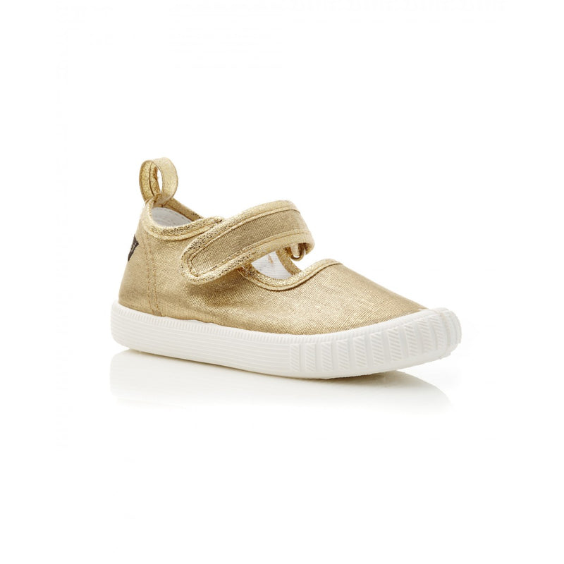 Walnut Shoes | Walnut MJ's - lurex gold | Surfcoast Kids Torquay VIC