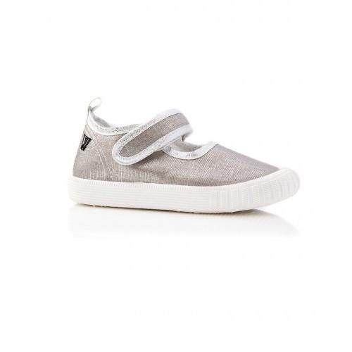 Walnut Shoes | Walnut MJ's - silver lurex | Surfcoast Kids Torquay VIC