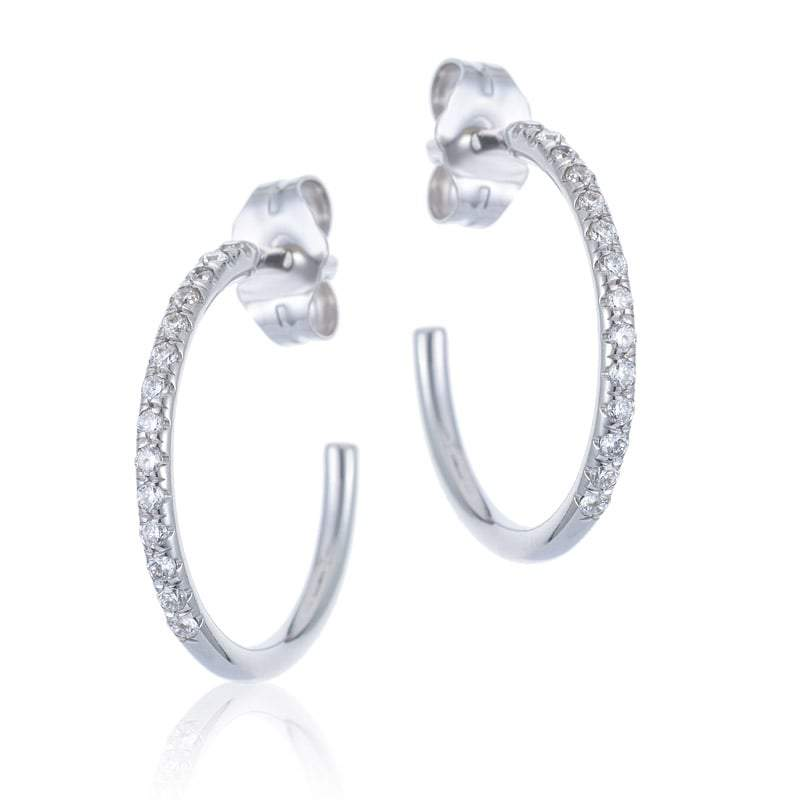 pave earings earrings stud jewellery bespoke set carat rings diamond