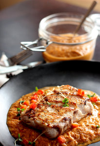 No Ordinary Roasted Pepper Dip