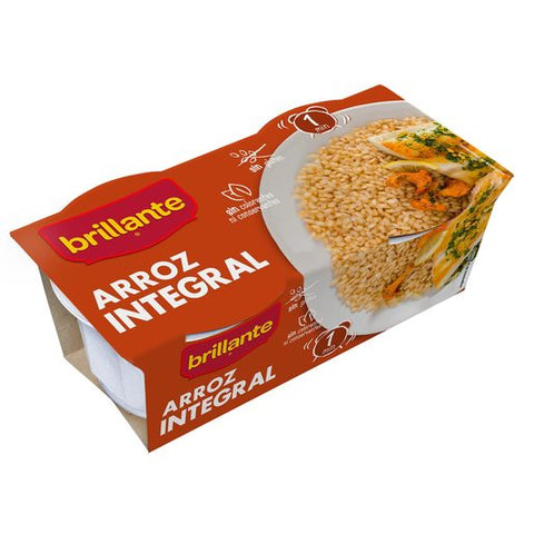 ARROZ INTEGRAL BRILLANTE 125 g P-2