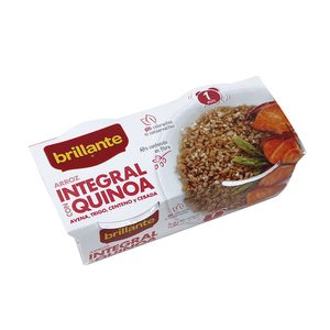 ARROZ INTEGRAL CON QUINOA BRILLANTE 125 G P-2