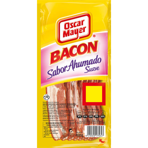 BACON SUAVE OSCAR MAYER LONCHAS 100 G