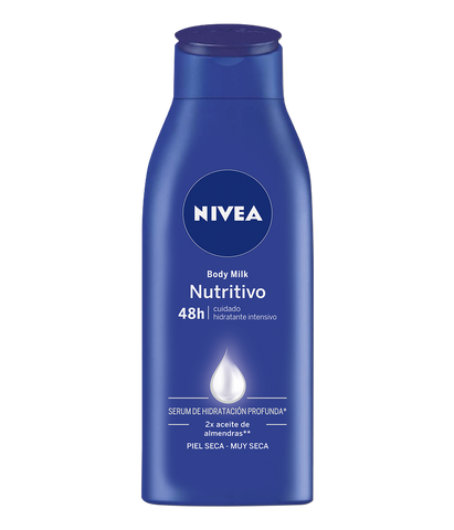 BODY MILK NUTRITIVA NIVEA 400 ML