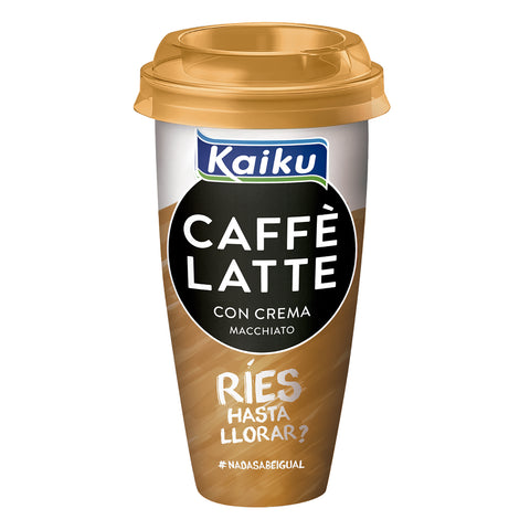 CAFE LATTE CREMA MACCHIATO KAIKU 230 ML