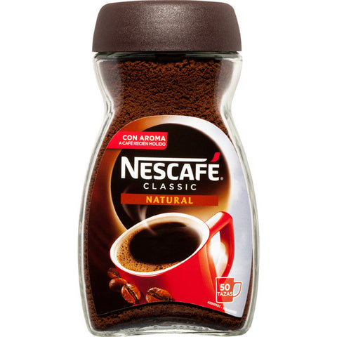 CAFE SOLUBLE NATURAL NESCAFE 100 g