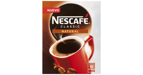 CAFE SOLUBLE NATURAL NESCAFE SOBRE 2 G.