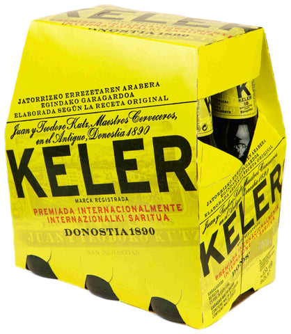 CERVEZA BOTELLA KELER 250 ML PACK 6