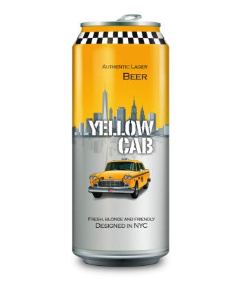 CERVEZA LATA YELLOW CAB 500 ML