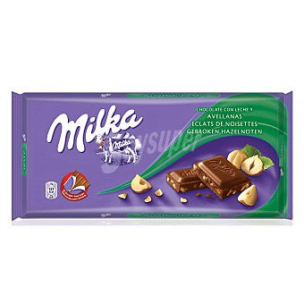 CHOCOLATE AVELLANAS MILKA 125 g