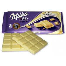 CHOCOLATE BLANCO MILKA 100 g.